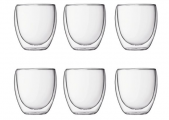 Bodum Pavina 0.25L set of 6 (+bonus 2 glasses)
